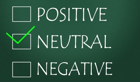 positive neutral